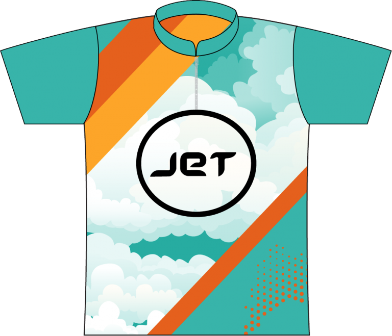 JET BOWLING SEAFOOD DYE SUBLIMATED JERSEY